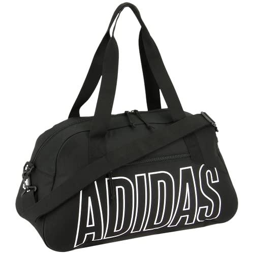 adidas Graphic Duffel Bag, Black/White, One Size