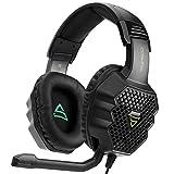 KK Timo Auriculares Stereo Gaming Headset For For PS4, PC, Controlador De Xbox One, Ruido De Los Auriculares del Oído Que Cancela sobre con Micrófono, Bajo Envolvente, Headset Auriculares For Juegos