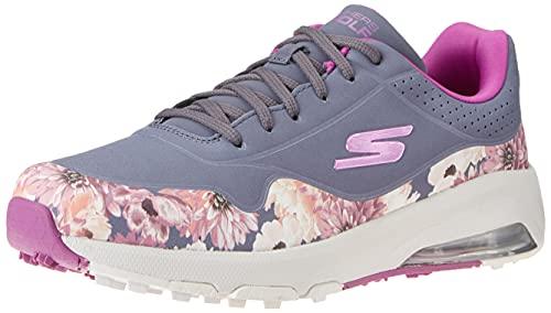 Skechers Skechers Air Dos Relaxed Fit - Zapatos de golf sin puntas para mujer, azul (Azul marino/estampado de flores múltiples), 37.5 EU