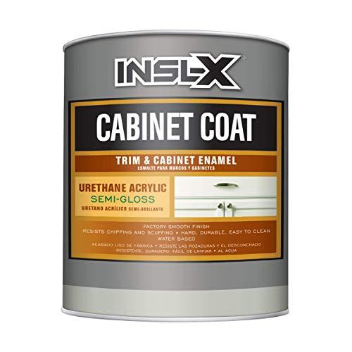 INSL-X CC560109A-44 Cabinet Coat - Semi-Gloss Paint, 1 Quart, White