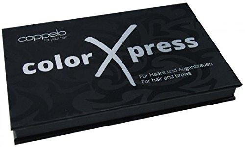 Coppelo Color Xpress dunkelbraun bis schwarz, 1er Pack, (1x 8 g)