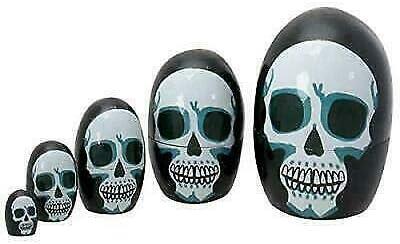 Day of latest Luxury The Dead Skeleton Skull Matroyshka Face Dolls Bab Nesting