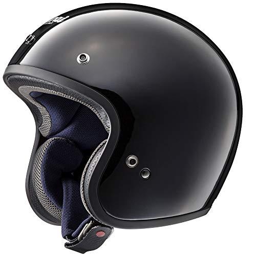 ARAI Freeway Classic Gloss Nero Open Face Casco per Moto Taglia L