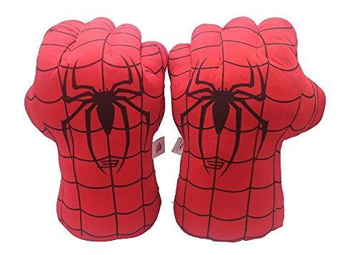 guanti spiderman AMZYY Hulk Fist Gloves Doll Boxer Movie Doll Hulk Rabbia Mano Spider-Man Cosa Guanti Giocattoli per Bambole Regali di Natale