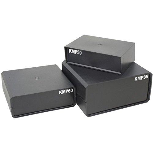 WITTKOWARE Halbschalen-Kunststoffgehäuse KMP85, 175x160x85mm, schwarz