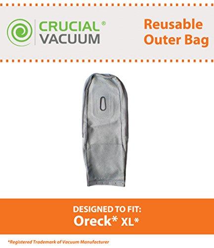 Think Crucial Ersatz-Vakuumbeutel für Oreck XL, wiederverwendbar, passend für XL-Staubsauger