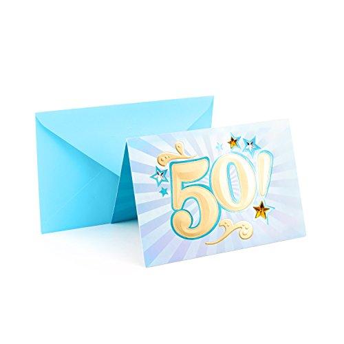 Hallmark 50th Birthday Card (Bling)