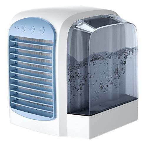 Rindasr Calentador, el espacio personal del acondicionador de aire, refrigerador de aire personal, Mini USB Espacio Personal del refrigerador de aire, humidificador, ventilador de escritorio for la of