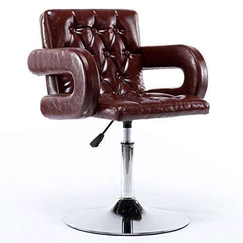 ZGSXZJJ barkruk barkruk liftstoel moderne minimalistische hoge kruk statafel en stoel kruk rugleuning barkruk kan omhoog en omlaag worden gedraaid