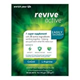 Revive Active Super Supplement | 26 Active Ingredients in One Daily Sachet | 30 Day Supply | Supports Energy & Metabolism, Immune System & Heart Health | CoEnzymeQ10, L-Arginine, Citrulline