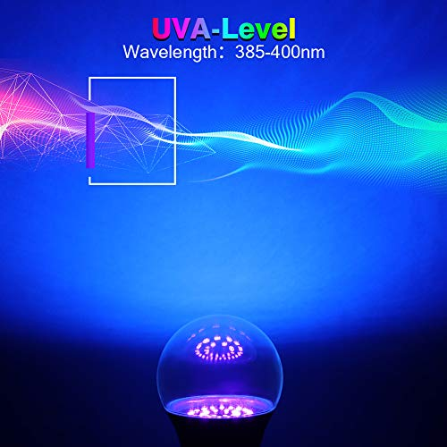 Litake Bombillas de iluminación ultravioleta