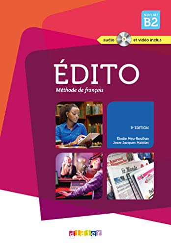 Edito niv.B2 (éd. 2015) - Livre + CD + DVD