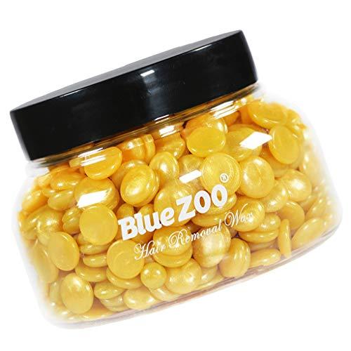 Baoblaze Perle Haricots Film Chaud Cire Cheveux Dépilatoires 150g - Doré