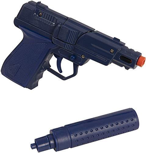 D.A.Y. Republic Swat Mission Die-cast Metal Cap Gun Pistol with Silencer,...