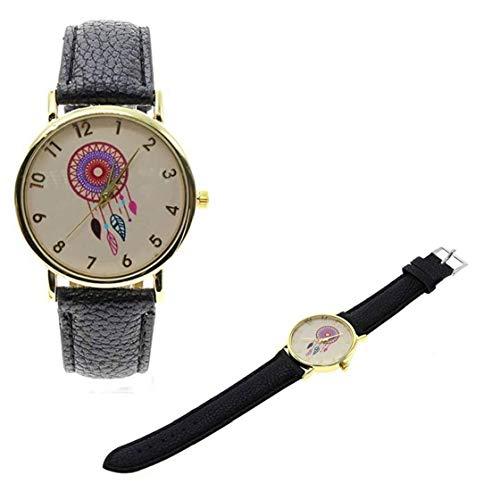 IUwnHceE Mujeres de la Manera analógica Reloj de Cuarzo Relojes de los Estudiantes de la Historieta Linda Pulsera de Reloj para los Regalos de cumpleaños de Vacaciones