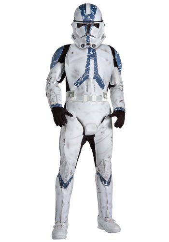 Kostüm Clone Trooper Star Wars 501st Legion deluxe Kind - M - 128cm