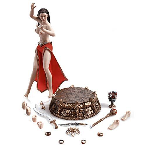 GODNECE Actionfiguren Soldaten, 15cm 1/12 Action Figur Beweglich Vampir Kaiserin Soldat Modell Action Figure Soldat Modell Sammlung