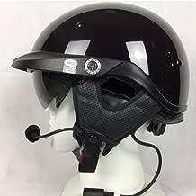 Bell Pit Boss With J&M 787 Headset/Intercom Black Xlarge