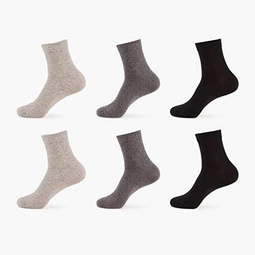 LB-sock Chaussettes Business pour Hommes en Pur...