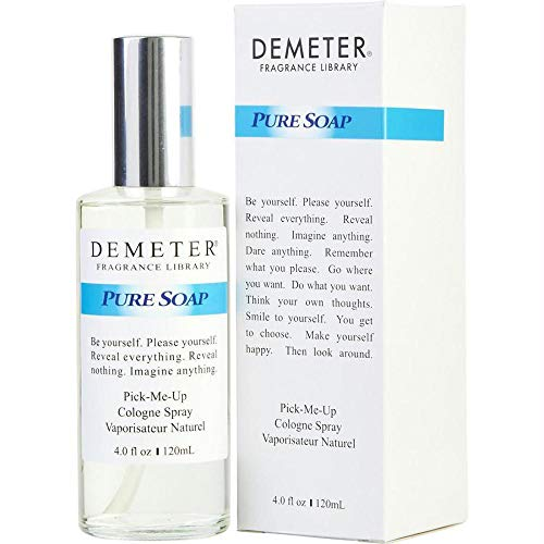 Demeter Pure Soap Cologne Spray for Unisex, 4 Ounce