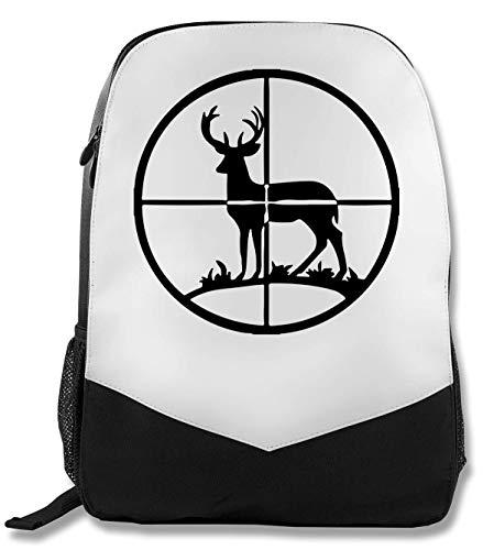 Deer Hunter's Target Vintage Rucksack