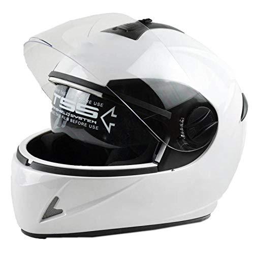 Elektrische motorhelm batterij auto helm volledige helm anti-mist warme helm rijhelm