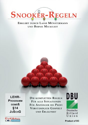 Snooker Regeln (Offizielle Regeln der DBU)