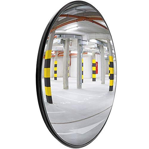 PrimeMatik - Espejo convexo de señalización seguridad vigilancia 30cm interiores