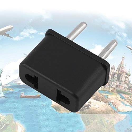 Davitu Electrical Equipments Supplies - The Best' US To EU Europe 220V Standard AC Power Plug Adapter Outlet Travel Converter 889 - (Color: Black)