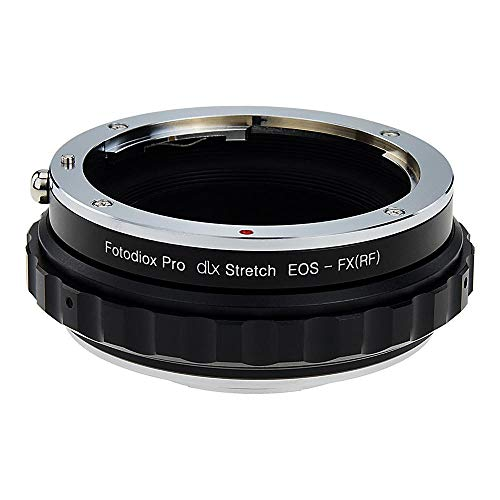 Fotodiox DLX Stretch Lens Mount Adapter - Canon EOS (EF/EF-S) D/SLR lens compatibel met Fuji X-Series Mirrorless Camera Body met Macro Focusing Helicoid and Magnetic Drop-In filters
