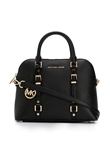 Luxury Fashion | Michael Kors Dames 30H9G06S8L001 Zwart Leer Handtassen | Lente-zomer 20