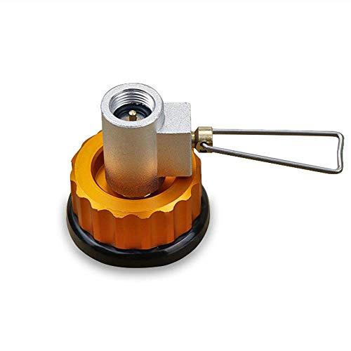 Dirgee Tanque de Relleno del Tanque Tanque de Gasolina de Gas Plana Adaptador de selector de Gas de válvula Adicional Adaptador de Cartucho Camp ACTH CONVERTOR DE Gas (Size : Gas Refill Shifter)