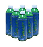 99.7% Pure Oxygen Supplement, Quick Recovery for Exercise, Motion Sickness, Altitude Sickness, Mental Clarity, and Focus. Sanitary Flip Top Cap (9 Liter Portable Oxygen Can - 6 Pack- Natural)