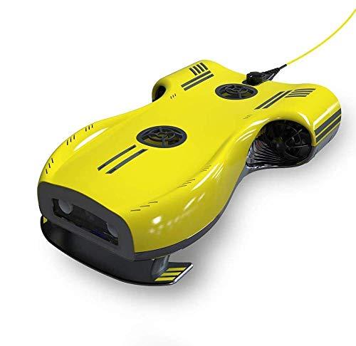 Drohneks 4K Unterwasserkamera-Drohnen-System, Seefotografie, WiFi-Rekorder zum Angeln, Tauchen mit Reiserucksack.