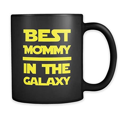 Taza Geeky Mom Geeky Mom, regalo para madre de hijo Nerdy Mom, regalo Geeky regalo para mamá, divertido regalo para madre mejor mamá en la glaxy 325 ml