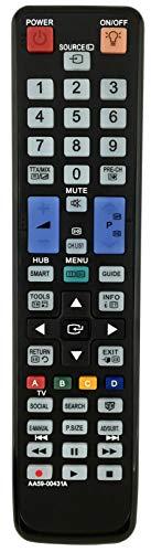 Ersatz Fernbedienung Samsung TV UE40D6300SS/XZG | UE40D6500 | UE40D6510 | UE40D6510WS