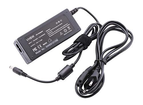 vhbw AC Netzteil passend für Panasonic Toughpad FZ-A1, FZ-A2, FZ-E1, FZ-M1 Notebook, Laptop