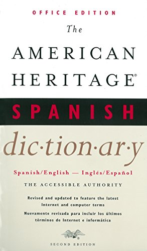The American Heritage Spanish Dictionary, Second Edition: Office Edition