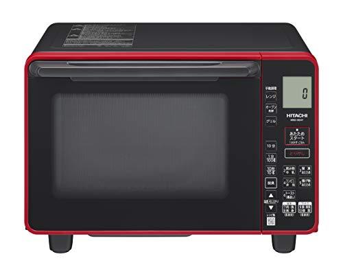 日立 オーブンレンジ 22L 温度センサー シンプル操作 MRO-HE4Y R レッド