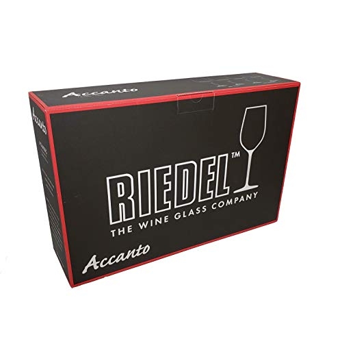 Riedel Accanto Lead Free Crystal 19.75 Oz Red Wine Glasses Set of 4