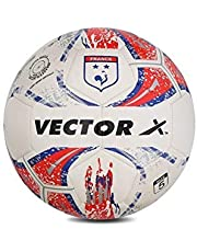 Vector X France-TPU-MS-5 Synthetic Machine Stitched Football, Size 5 (Multicolour)