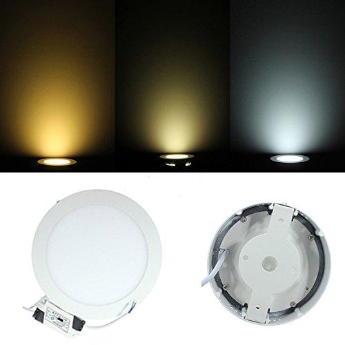 Masunn 9 W rond dimbaar led-paneel plafondlamp Ac 85-265 V