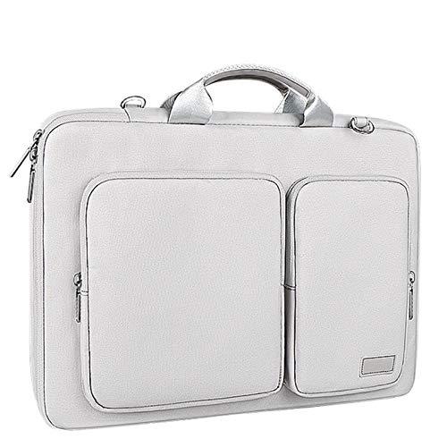 Stevige anti-botsing laptoptas, heren dames waterdichte handtas, reiskoffer zakelijke documententas,Gray,S