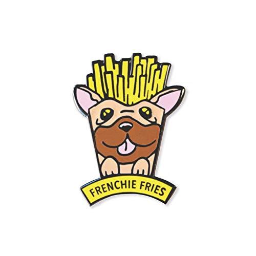 Frenchie Fries Enamel Pin