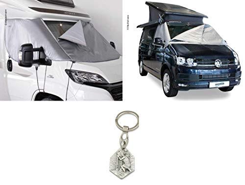 Zisa-Kombi Außen-Isoliermatte Classic, Fahrerhaus, Ford Transit 2014 (932988908083) mit Anhänger Hlg. Christophorus