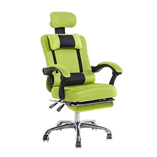 HMBB Sillas de Escritorio, Sillas de oficina del Ministerio del Interior sillas de escritorio de oficina silla de trabajo silla de la computadora giratorio del balanceo con retráctil reposapiés ajusta