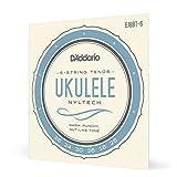 D'Addario EJ88T-6. Juego de cuerdas de Nyltech para ukelele. Tenor de 6 cuerdas