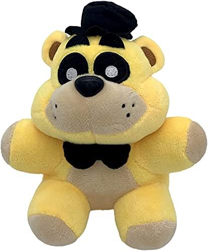 Dareugo-Five Nights at Freddy's Plush Toys-Freddy Golden Bear-FNAF Fan Regalos de Halloween para niños de 7 pulgadas