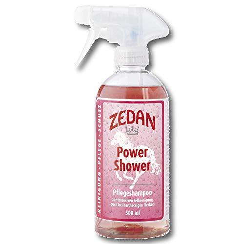 ZEDAN Power Shower 500ml Pferde Pflegeshampoo Pferdeshampoo Fellpflege Hautpfl.