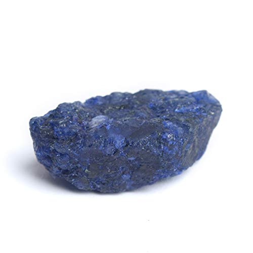 Protection Blue Sapphire Healing Crystal 94.00 Ct Natural Raw Sapphire, Uncut Rough Sapphire Gemstone